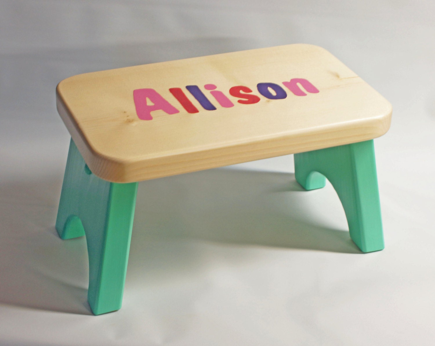 Personalized Multi Color Children S Stool