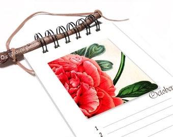 Perpetual Calendar - Vintage Botanical Watercolours