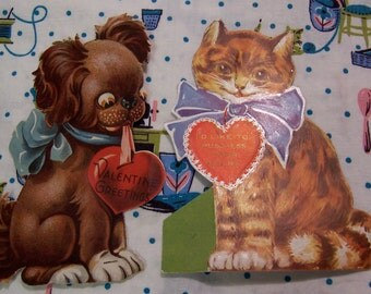 1920's collectable paper valentines