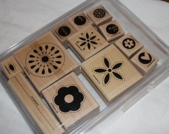 DESTASH - Used Stampin Up Stamp Set - In the Spotlight