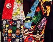 Comic book super hero comicon scarf