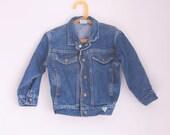 Vintage Guess child's jean jacket size 4T
