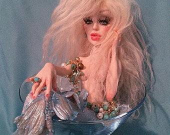 Custom Art Doll ooak Mermaid by Moninesfaeries