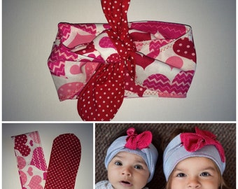 the polka bow wrap