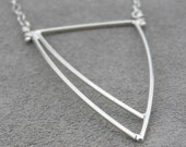 Abstract Silver Pendant 2