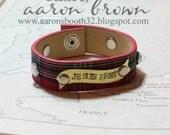 Outlander Inspired Reclaimed Belt Bracelet Je Suis Prest