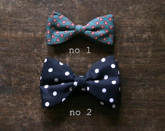 Vintage Bow Ties, Mid Century Clothing Accessories, Men's Fashion