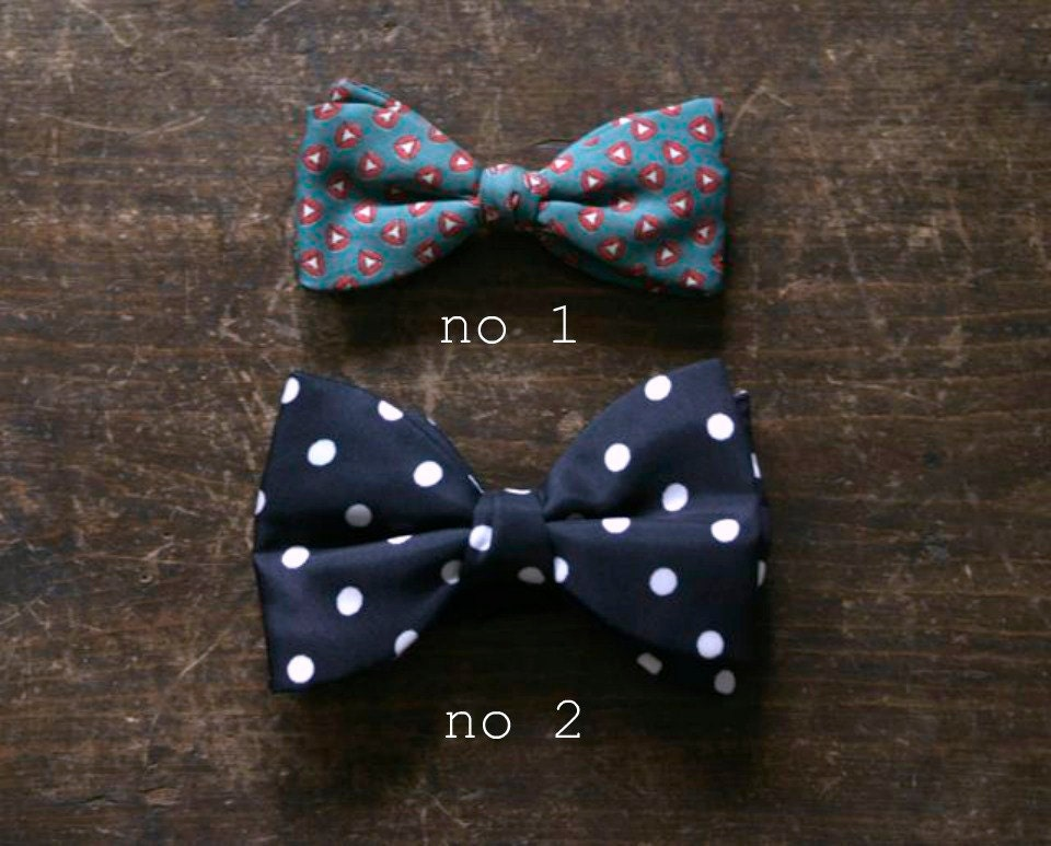 vintage bow ties mid century clothing accessories by