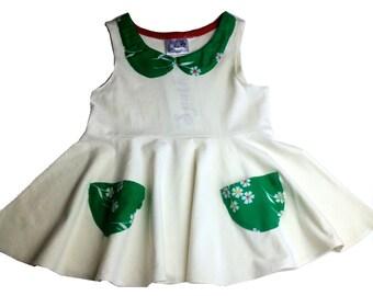 Organic Irish twirl dress