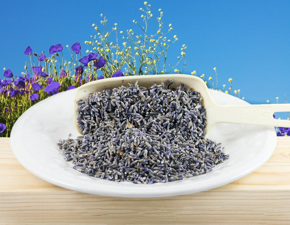 Lavender Organic Dried French Lavender Tea Edible Flowers