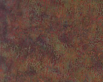 Clearance Sale - Fat Quarter - Autumn Macro Leaf Batik - L2663-66