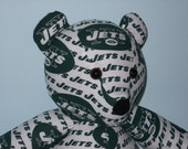 Teddy Bear New York Jets Football NFL Sports Team Mascot Green White Gift Party