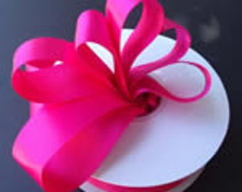 5/8 x 50 yds GROSGRAIN RIBBON - Shocking Pink   Save 25%
