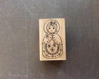 Hero Arts Wooden Doll