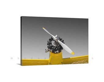 Crop Duster Photo, Airplane Wall Art, Aviation Decor, Giclee Canvas Print, Pilot Gift, Aircraft Prints, Aeronautical Art, Stretch Canvas