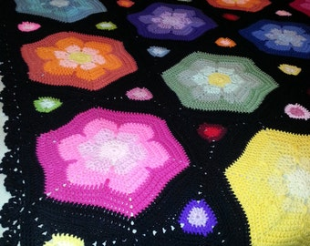 Hand Crocheted Afghan