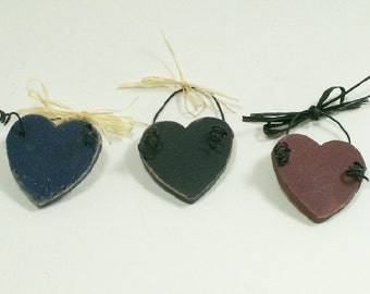 Heart Hangers Americana 1:12 Dollhouse Miniature One Inch Scale Artisan