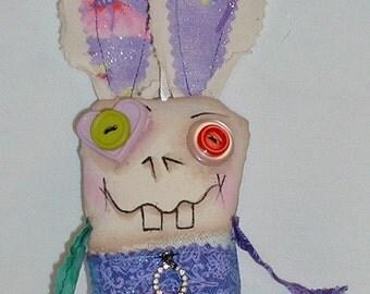 Mini Easter Bunny - Rabbit - Monster Doll V-14
