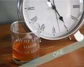 ONE Personalized Engraved Glasses
