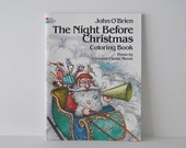 Coloring Book John Obrien The Night Before Christmas