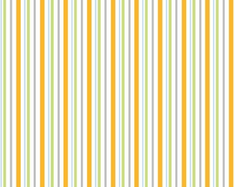 Adlico • Furry Friends • stripes • Cotton Fabric 001959