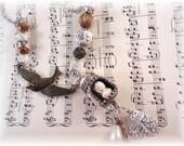 Salt Shaker Collage Necklace