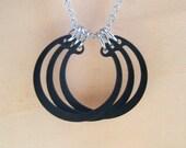 Hardware Pendant Necklace Hardware Jewelry Black Industrial Hardware