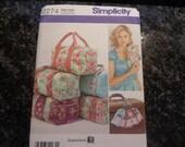 Simplicity duffel bag pattern