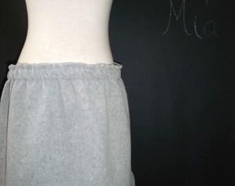 BUY 2 get 1 FREE - Skirt - Fleece - Heathergrey -  Boutique Mia