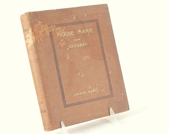 Antique 1910's Mooie Marie - written in Dutch