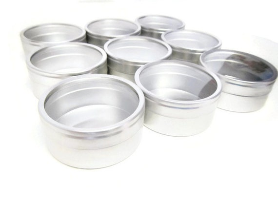 Small round metal tin set of nine small metal tins favor for Small tin containers