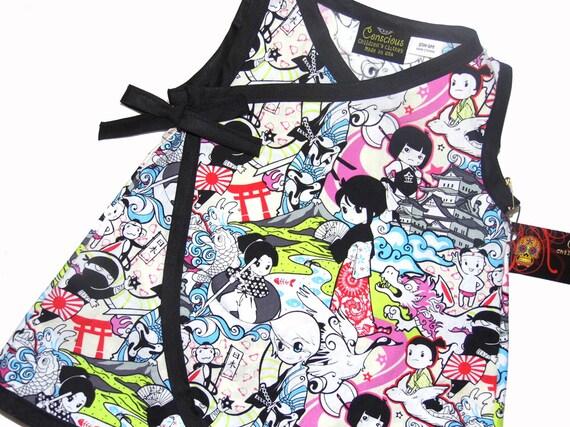 Items similar to Japanese Anime- Geisha Kimono - Baby Girl ...