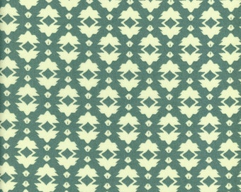 Tina Givens Fabric Foulard in Green from the Riddles and Rhymes Collection 1/2 Yard