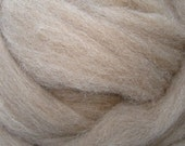 Fawn Shetland Combed Top, 1 lb for spinning and felting