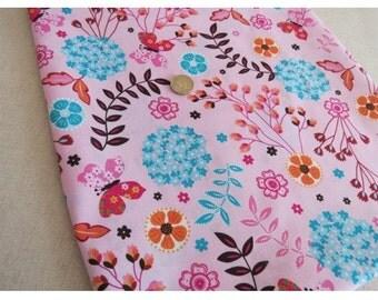 "AVJ Mod Oasis Flower Tangle Print Cotton Fabric 2 Yards and 30"""