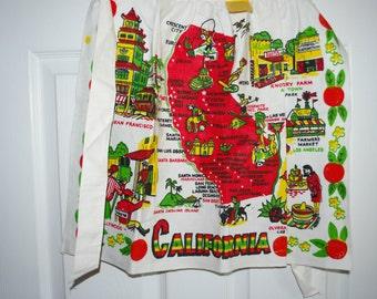 Vintage California Apron-MWT