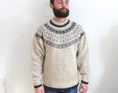 vintage FAIR ISLE sweater. L