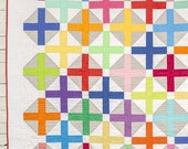 Hopscotch Quilt Pattern - throw and crib size
