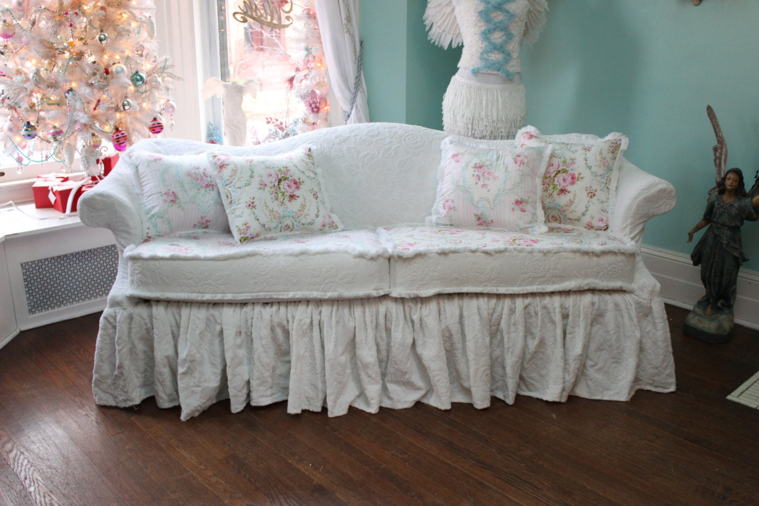 Shabby Chic Furniture Covers 28 Images Shabby Chic Slipcovers For Your Sofa Interior Fans