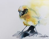 Yellow - ORIGINAL WATERCOLOR