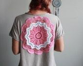 Embroidered Mandala V-Nec...