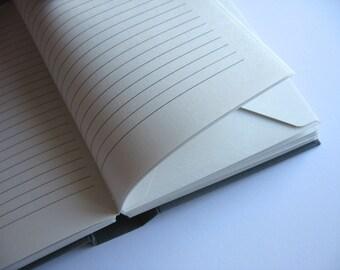 5 x 7 All Gray Envelope Journal