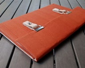 Microsoft Surface Pro 4 Case  / 11 MacBook Air Case / 11 MacBook Air Cover / 13 Macbook Cover / Padded Macbook Case - Rich Orange
