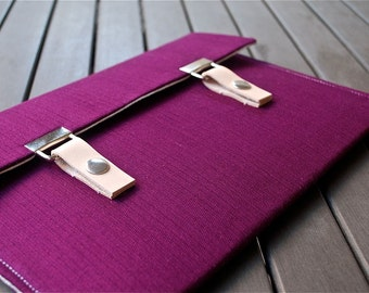 15 Macbook Pro Case / 15 Macbook Case / 13 MacBook Pro Cover / 12 MacBook Cover / 12 MacBook Sleeve - Deep Purple