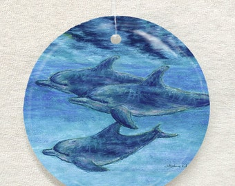 Dolphin Cruise Ornament and Suncatcher