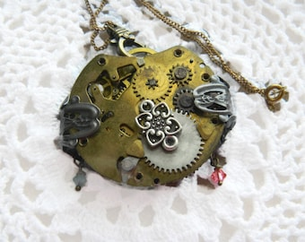 Steampunk Style Necklace