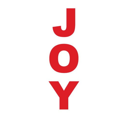 large joy letters db359 With giant joy letters