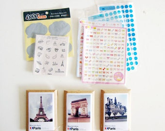 Destash Sale - Lot of Scrapbooking Stickers