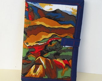 Impressionist Needle Book, Needle Case, Hand Sewing Organizer