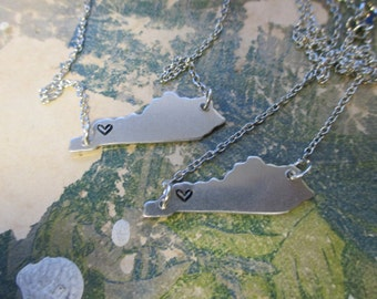 The Agnes Necklace - Kentucky Love Pendant Necklace or Key Chain